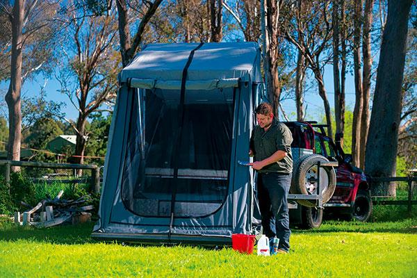Camper -canvas -care