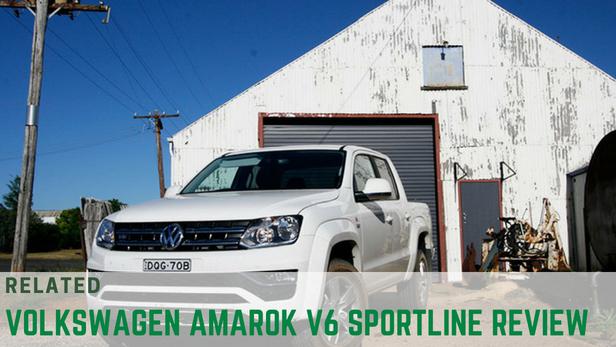 VW Amarok V6 sportline ute