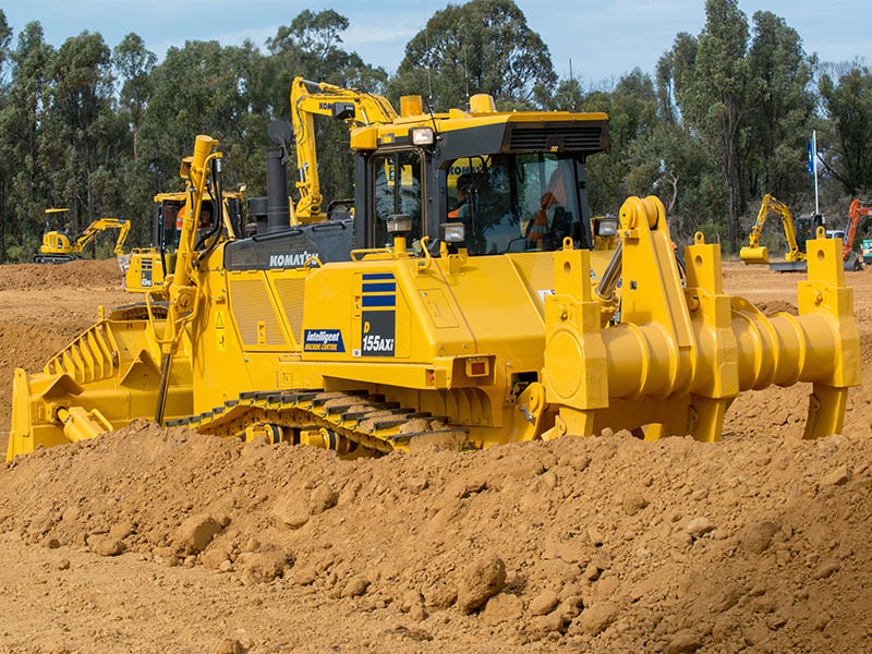4.The D115AXi Dozer Impressed