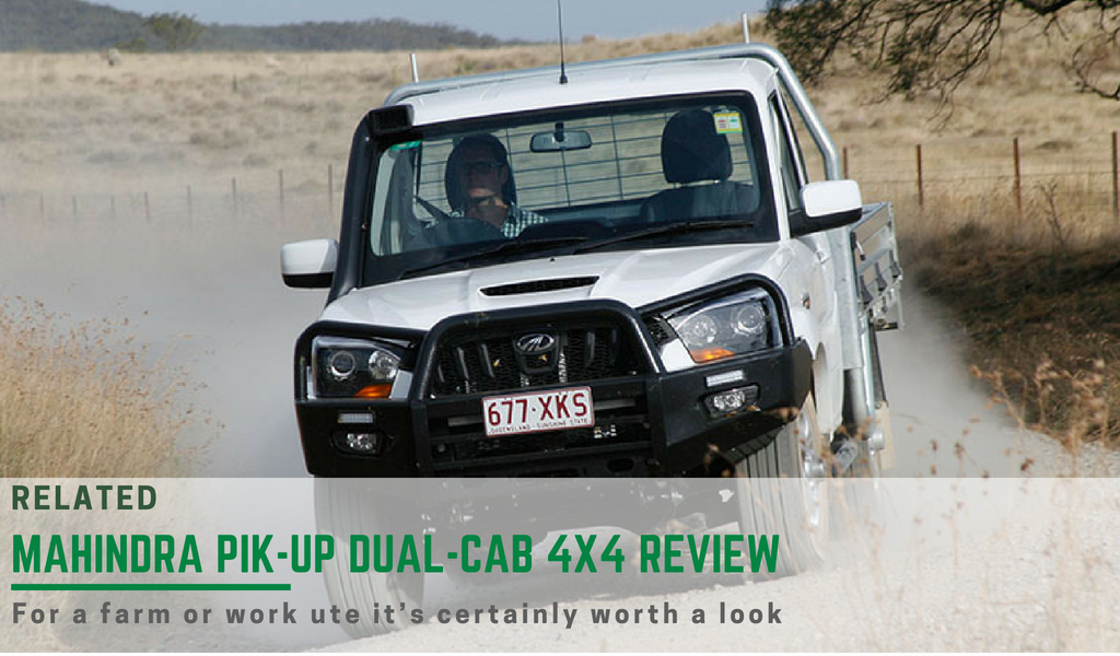 The Mahindra Pik-Up single cab review