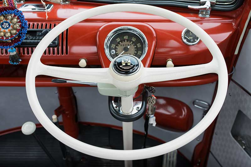Vw -kombi -steering -wheel