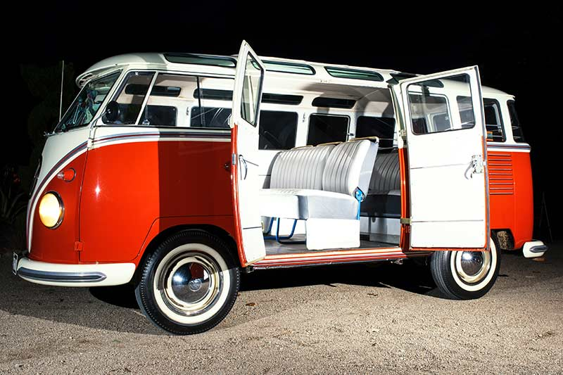 Vw -kombi -side