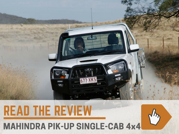 Mahindra Pik Up Single Cab