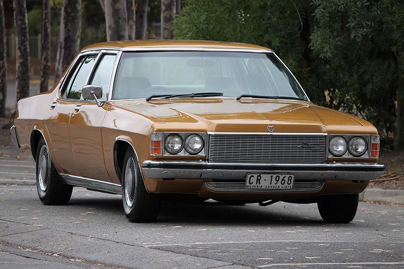 Holden -hx -front