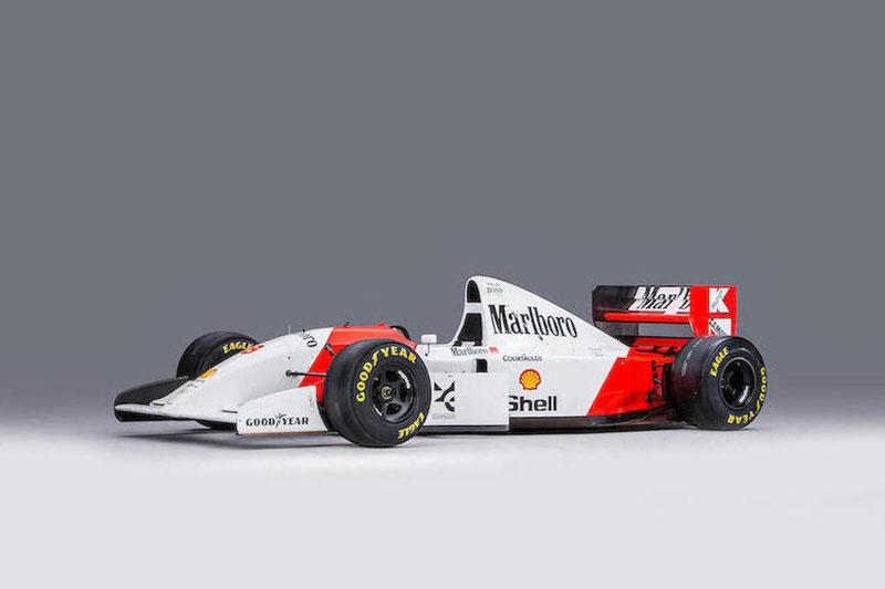 Monaco -Bonhams -Senna -Mclaren