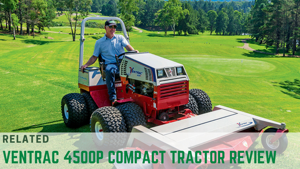 Ventrac 4500P compact tractor safety  utility tractor