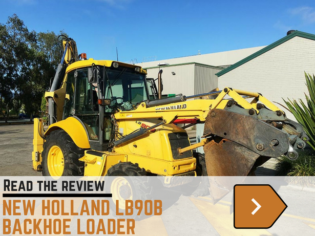 New Holland LB90B