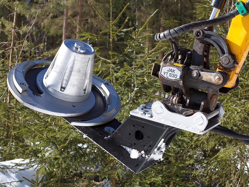 The JAK-Metalli Spiral Cutter from Finland