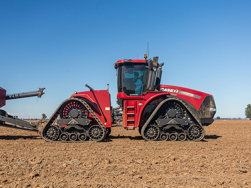 The Case IH Steiger 500 Quadtrac