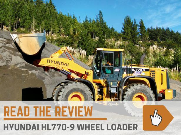 Hyundai HL770-9 Wheel Loader