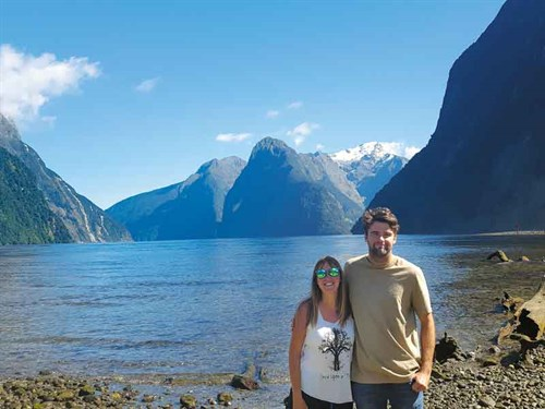 Liam -loved -his -first -trip -to -Milford -Sound