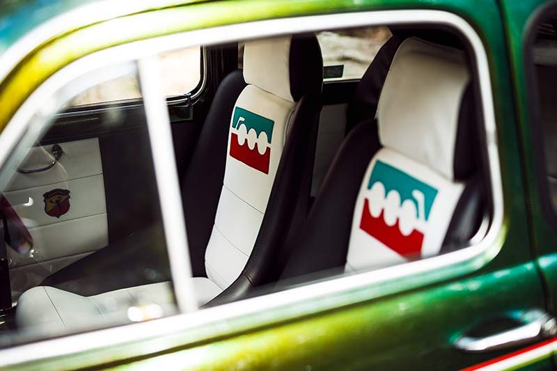 Fiat -500-seats