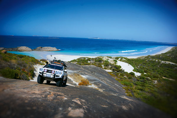 Climbing -Wylie -Head -just -east -of -Esperance