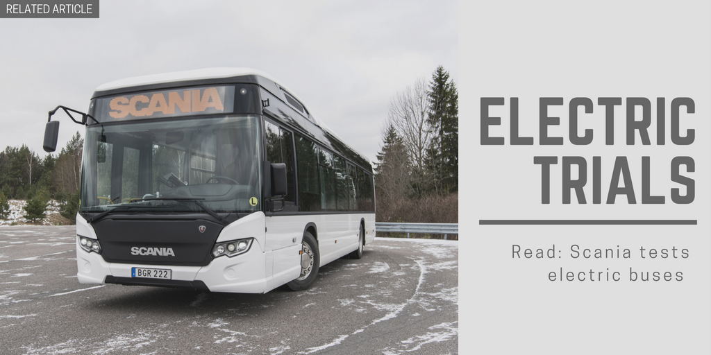 Related article: Scania tests electric buses