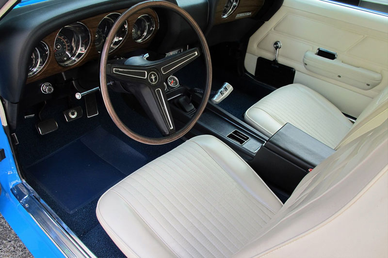 Shannons -preview -Mustang -interior