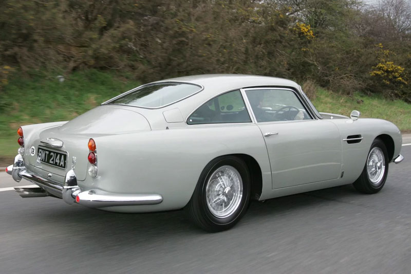 Bonhams -Aston -Bond -rear -quarter