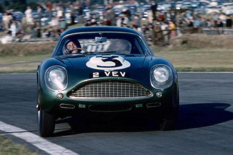 Bonhams -Aston -Zagato -front -vintage