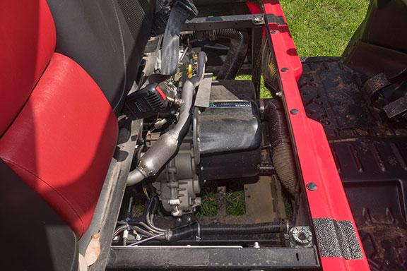 The stationary Kohler engine