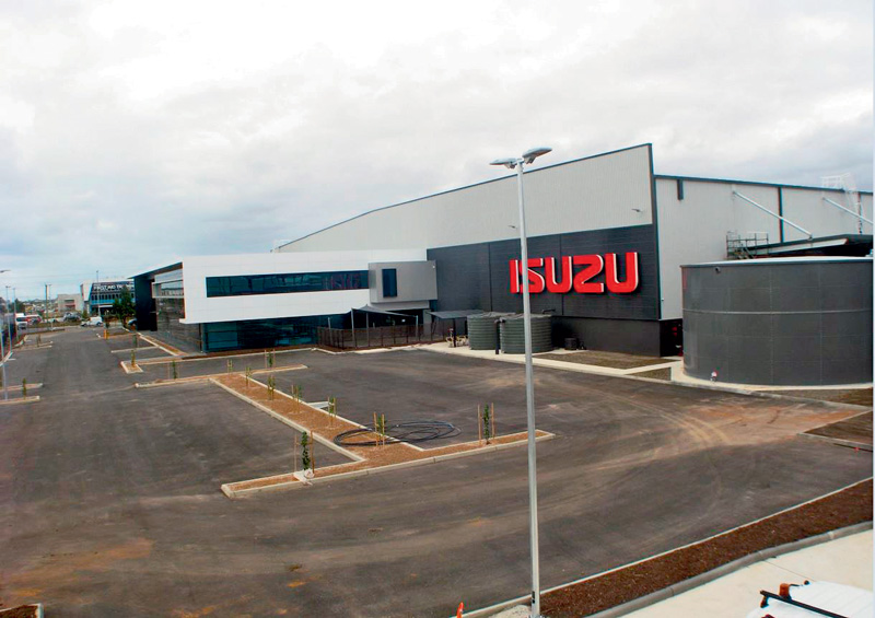 Isuzu -distribution -facility