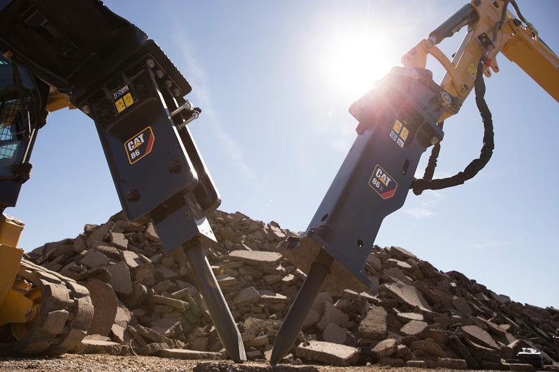 Cat -B-Prefix -hydraulic -hammer