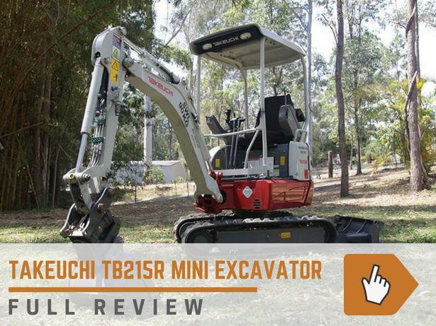 Takeuchi TB215r Mini Excavator