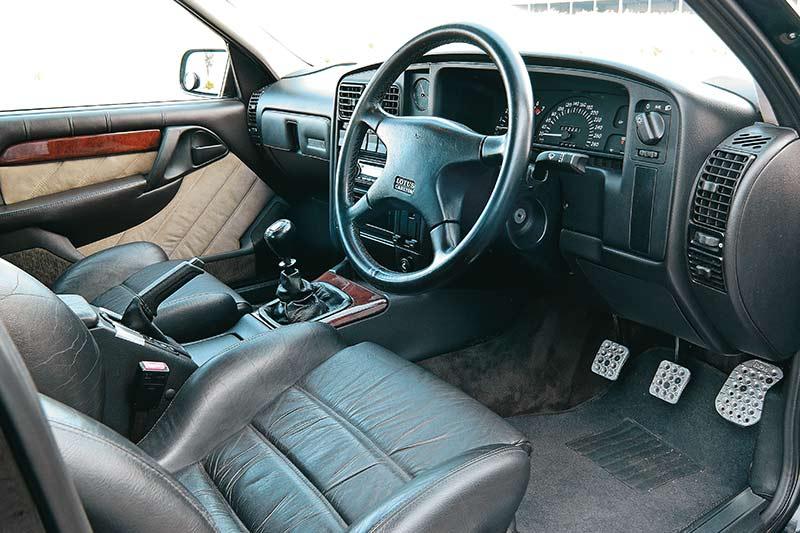 Lotus -carlton -interior