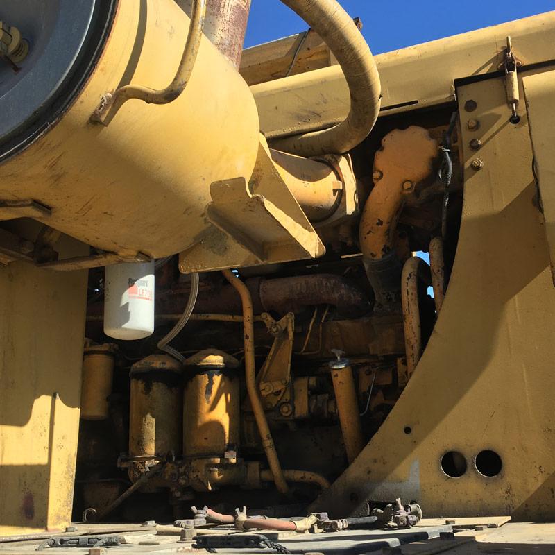 Cat -633C-scraper