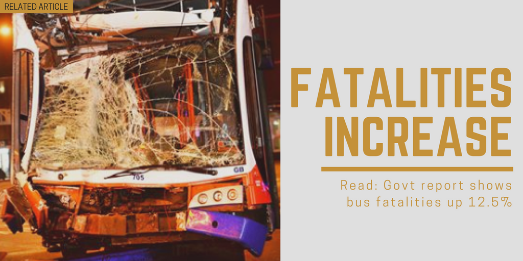 Related article: Govt report shows bus fatalities up 12.5%