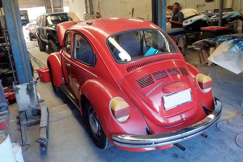 Vw -beetle -rear