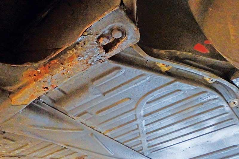 Vw -beetle -rust