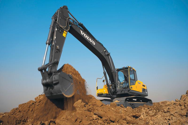Volvo -EC250D-excavator