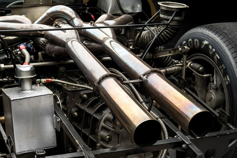 Ford -GT40-1966-Le -Mans -engine