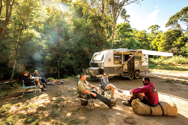 Campsite -in -Dargo -High -Country -plains