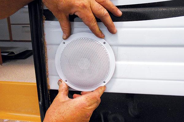 Installing -DIY-external -speakers -8
