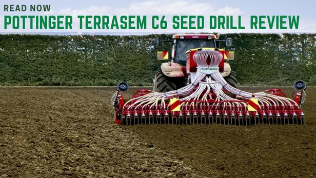 Pottinger Terrasem C6 drill