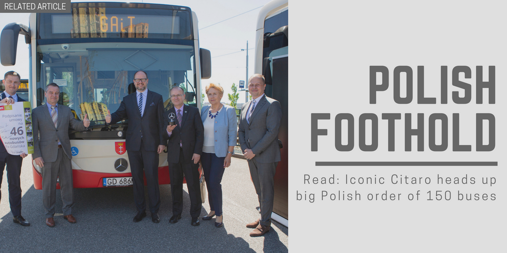 Related article: Iconic Citaro heads up big Polish order of 150 buses