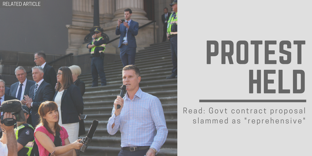 Related article: Govt contract proposal slammed as