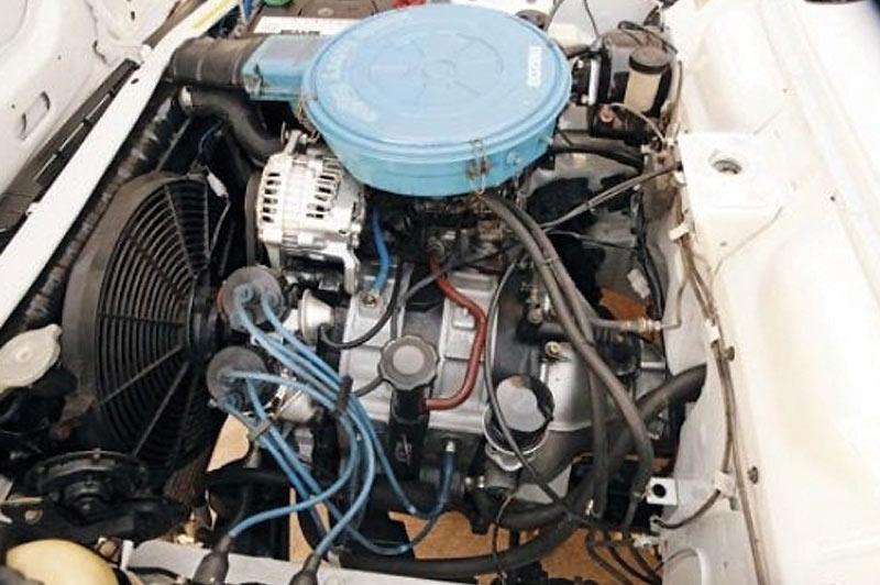 Mazda -rx 2-engine -bay