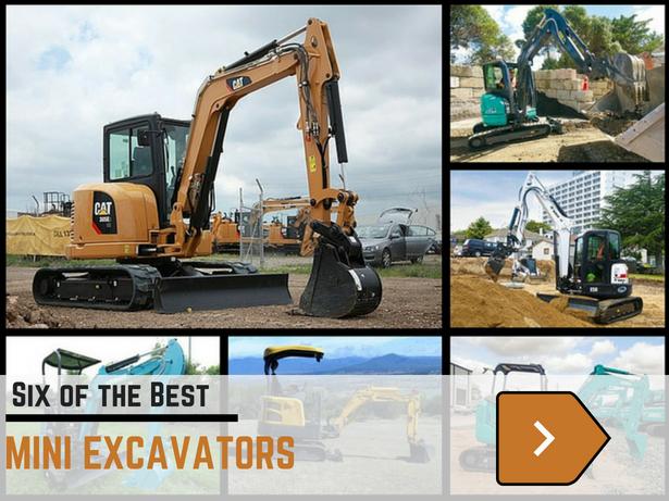 Best Mini Excavators