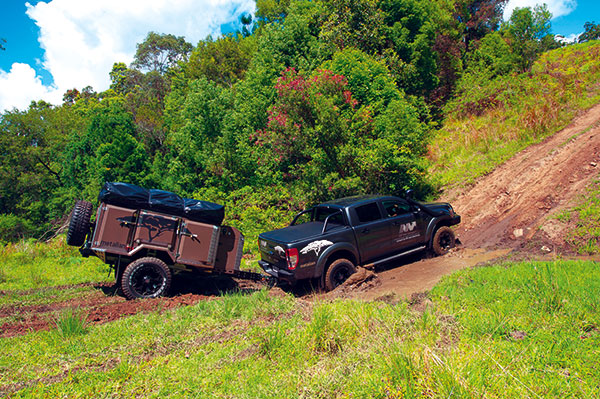 Towing -camper -trailer -4WD