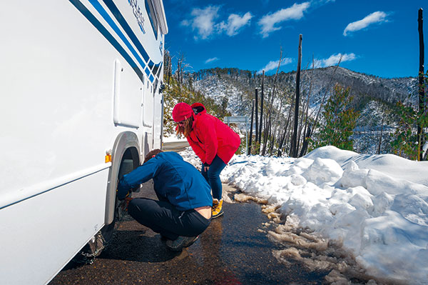 Jayco -Snow -Travel
