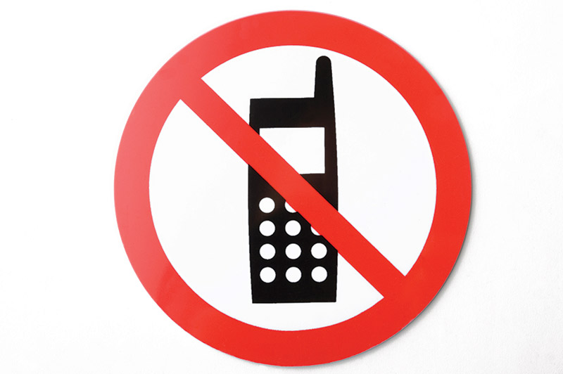 No -mobile -phone