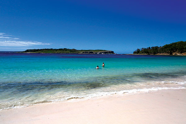 White -sand -beaches -and -turquoise -waters -at -Booderee -National -Park