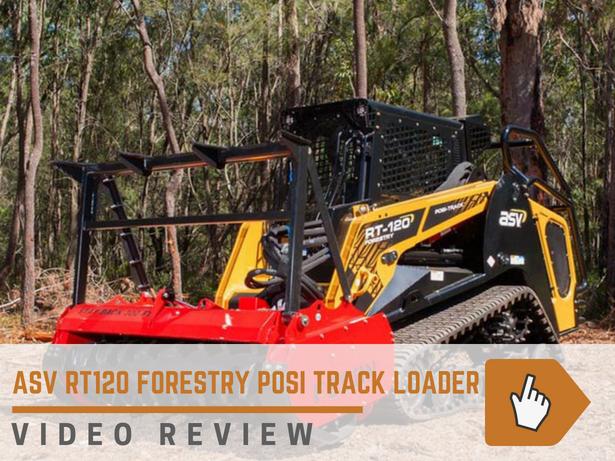 ASV RT120 compact track loader