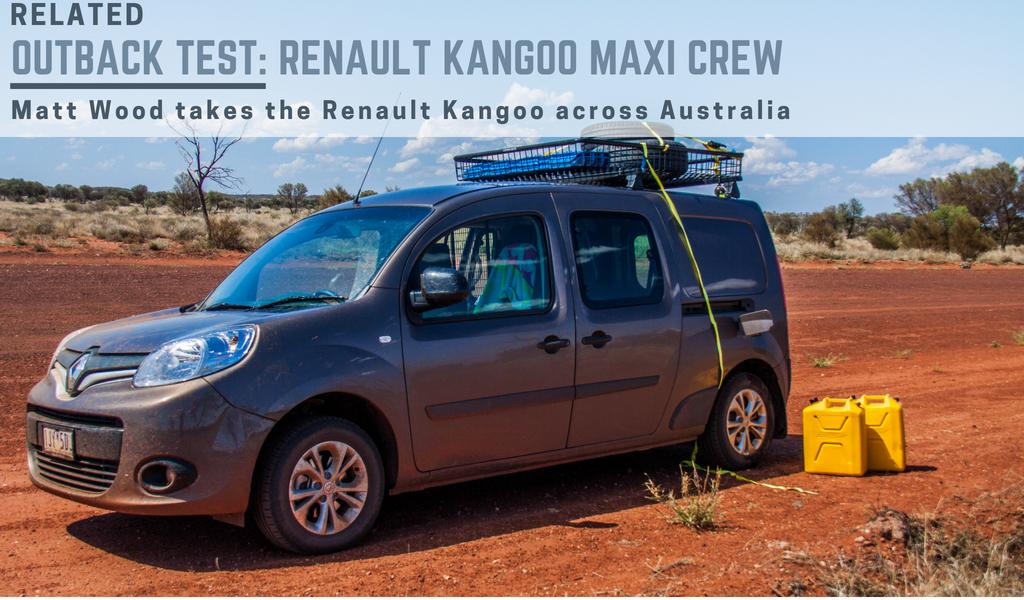 Renault Kangoo across australia