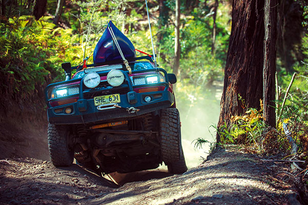 4WD-driving -offroad