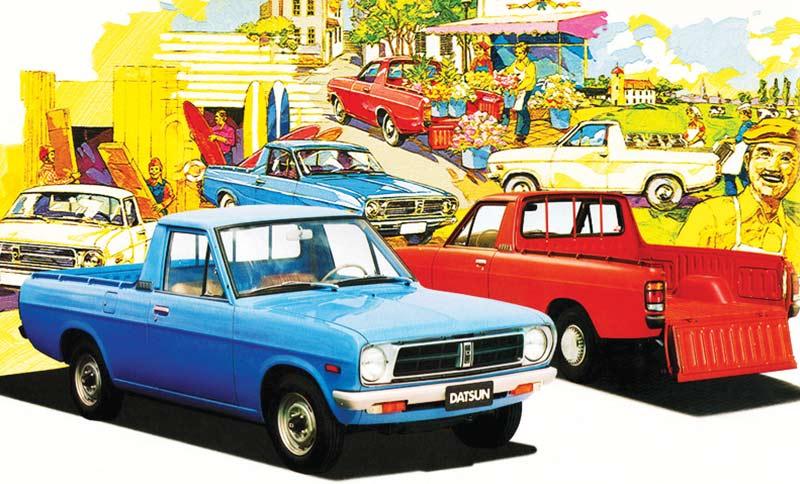 Datsun -1200-ute