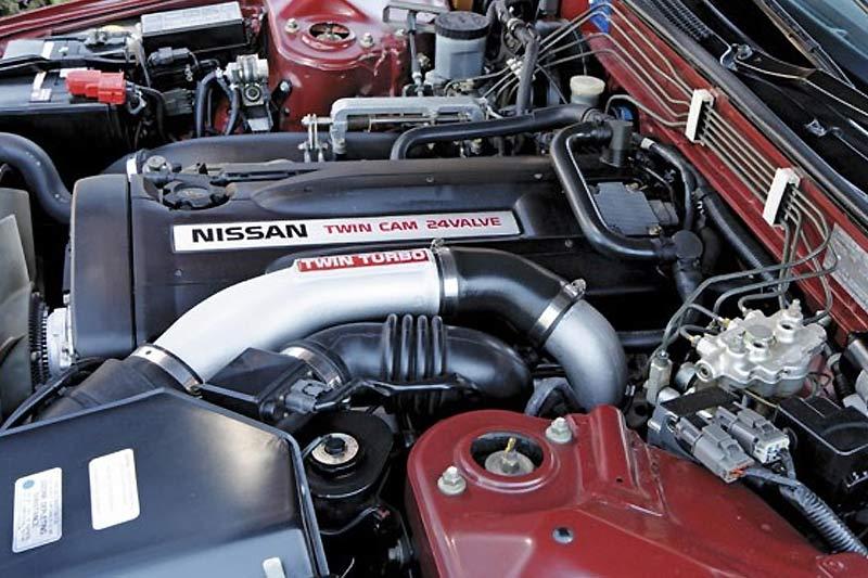 Nissan -skyline -gtr -engine -bay