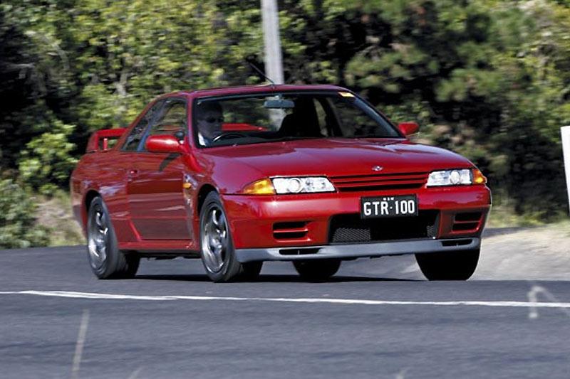 Nissan -skyline -gtr -onroad