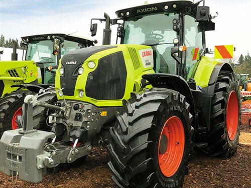Claas -Harvest -Fieldays -1